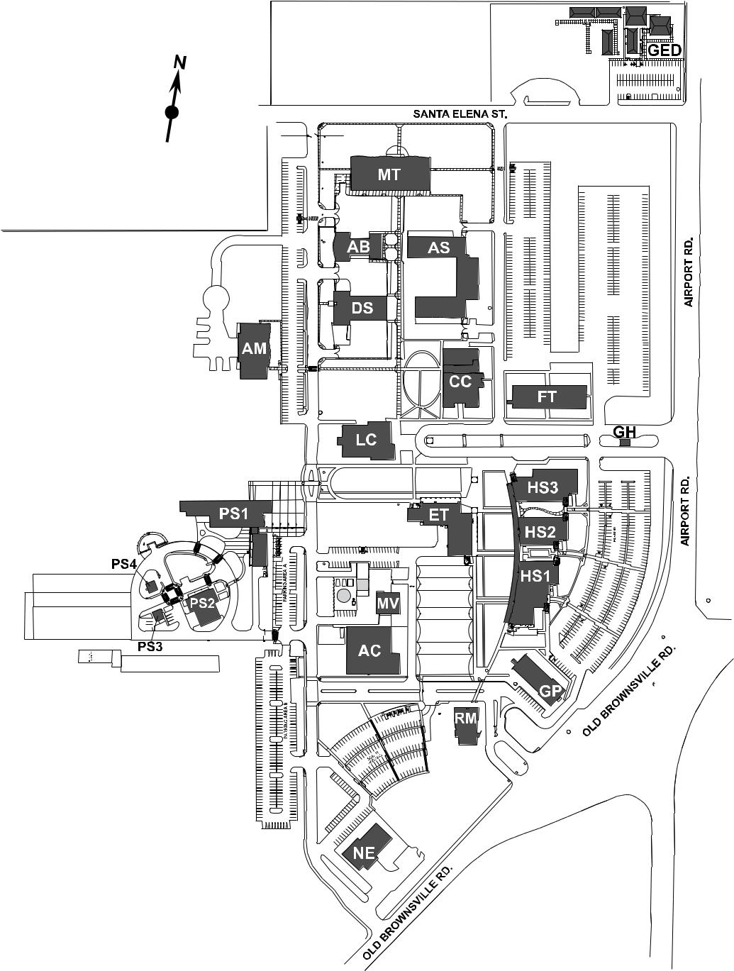 Del Mar Map Del Mar College   West Campus Del Mar Map